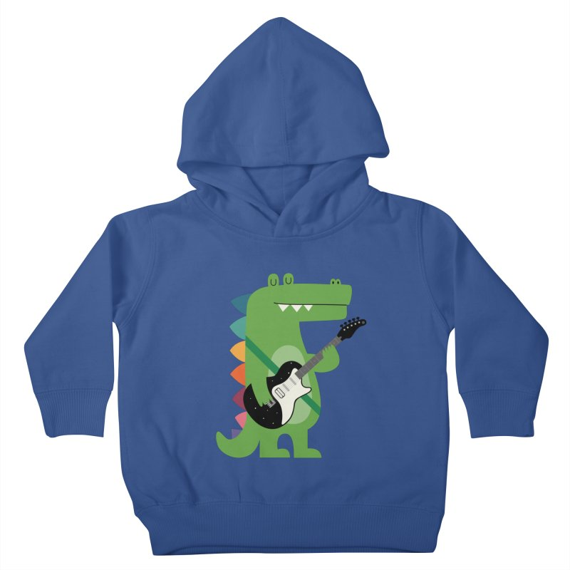 Croco Rock Kids Toddler Pullover Hoody by andywestface's Artist Shop