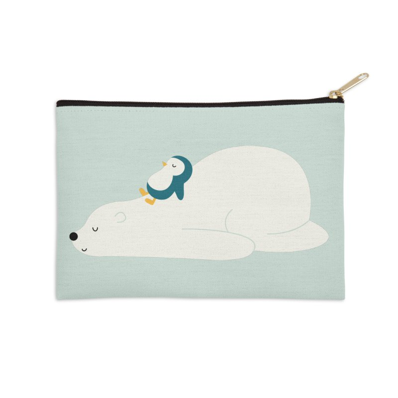 Time To Chill Accessories Zip Pouch by andywestface's Artist Shop