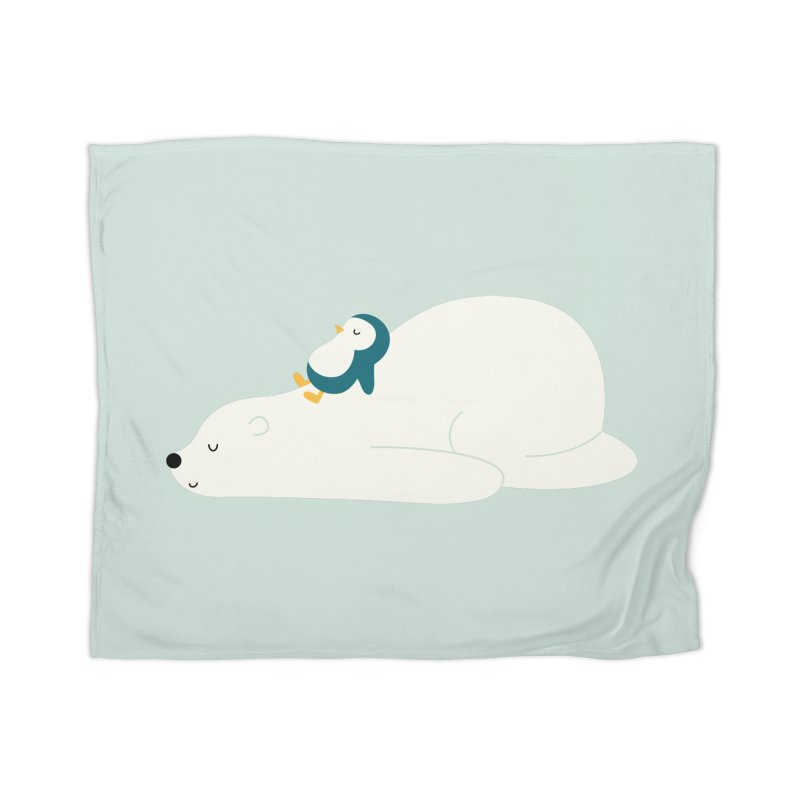 Time To Chill Home Blanket by andywestface's Artist Shop