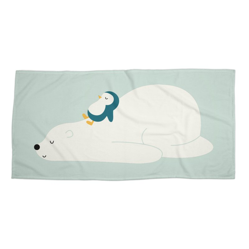 Time To Chill Accessories Beach Towel by andywestface's Artist Shop