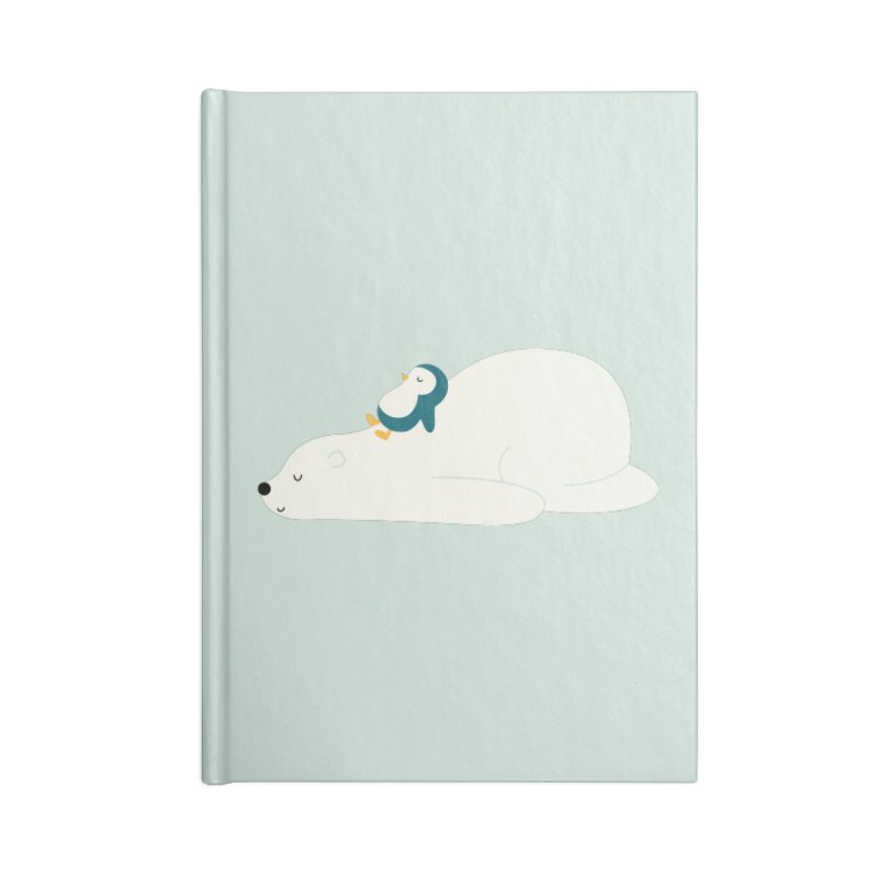 Time To Chill Accessories Lined Journal Notebook by andywestface's Artist Shop