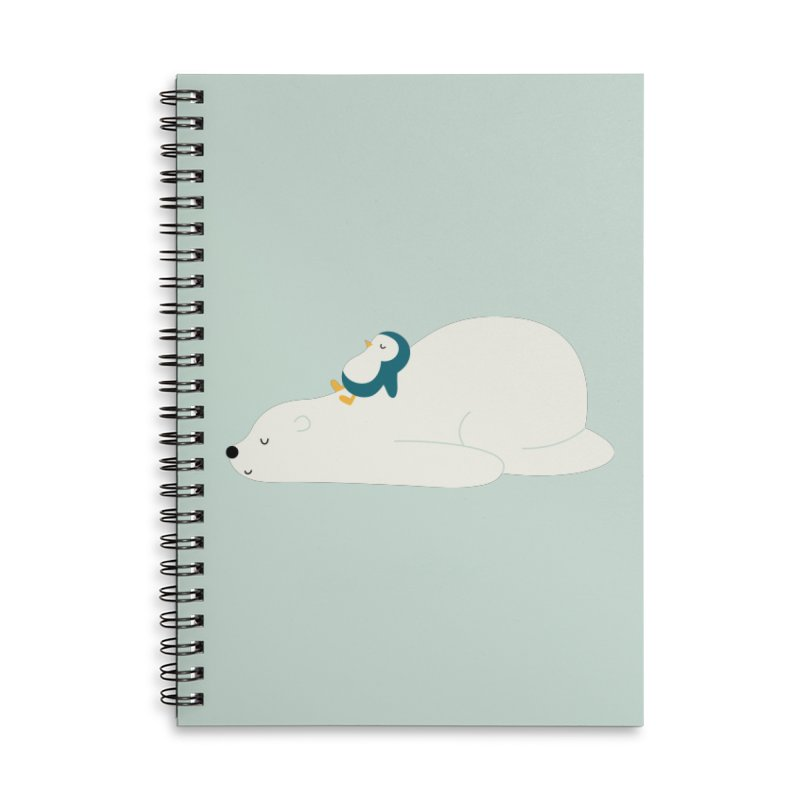 Time To Chill Accessories Lined Spiral Notebook by andywestface's Artist Shop