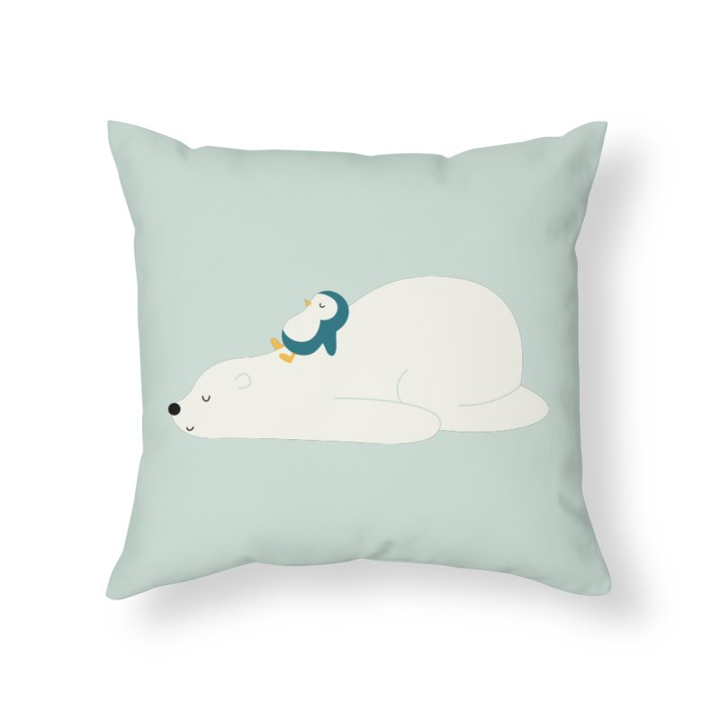 Time To Chill Home Throw Pillow by andywestface's Artist Shop