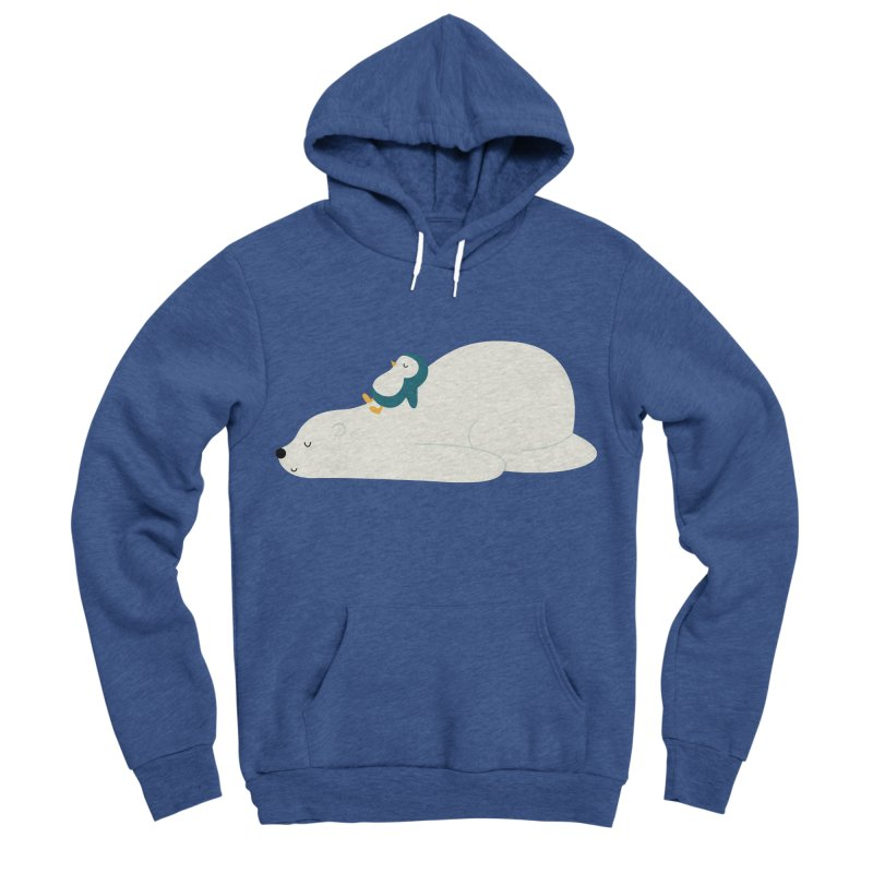 Time To Chill Men's Sponge Fleece Pullover Hoody by andywestface's Artist Shop