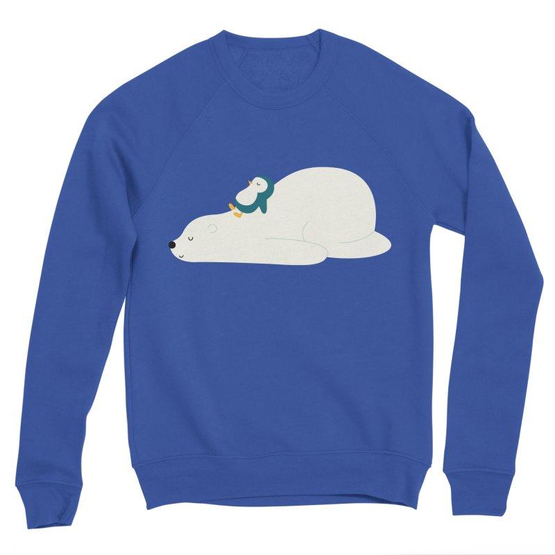 Time To Chill Women's Sponge Fleece Sweatshirt by andywestface's Artist Shop