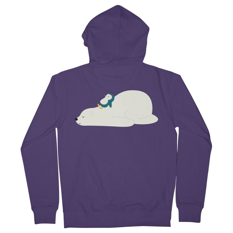 Time To Chill Women's French Terry Zip-Up Hoody by andywestface's Artist Shop