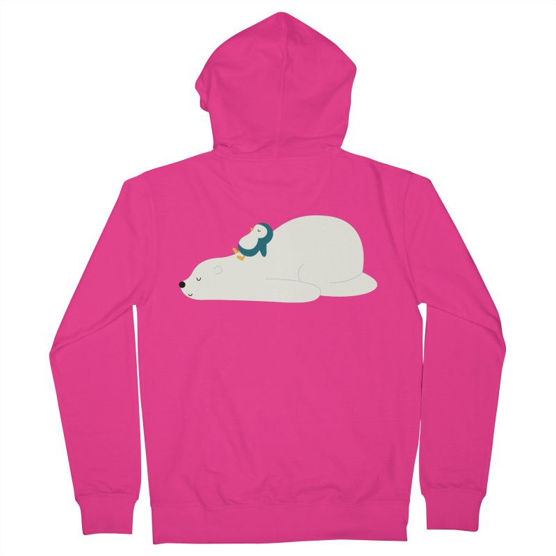 Time To Chill Men's French Terry Zip-Up Hoody by andywestface's Artist Shop