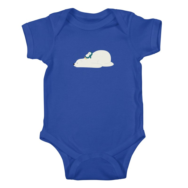 Time To Chill Kids Baby Bodysuit by andywestface's Artist Shop