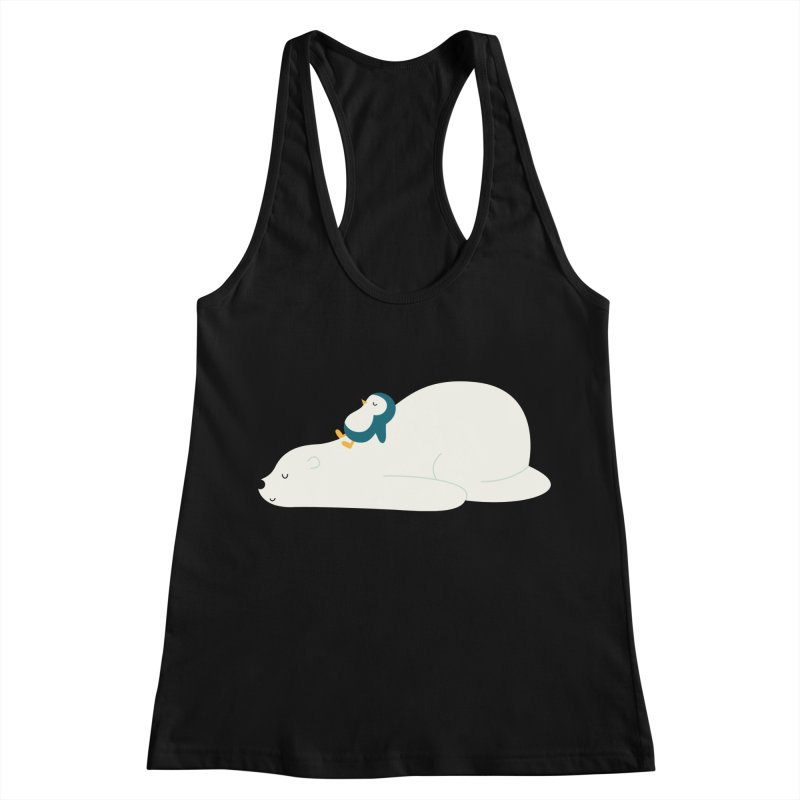 Time To Chill Women's Racerback Tank by andywestface's Artist Shop