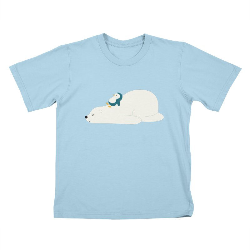 Time To Chill Kids T-Shirt by andywestface's Artist Shop