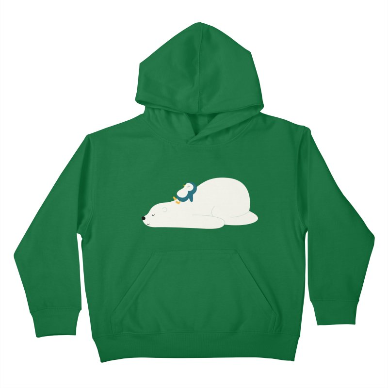 Time To Chill Kids Pullover Hoody by andywestface's Artist Shop
