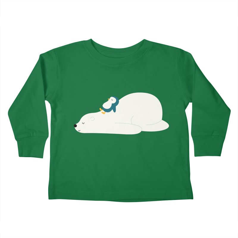 Time To Chill Kids Toddler Longsleeve T-Shirt by andywestface's Artist Shop