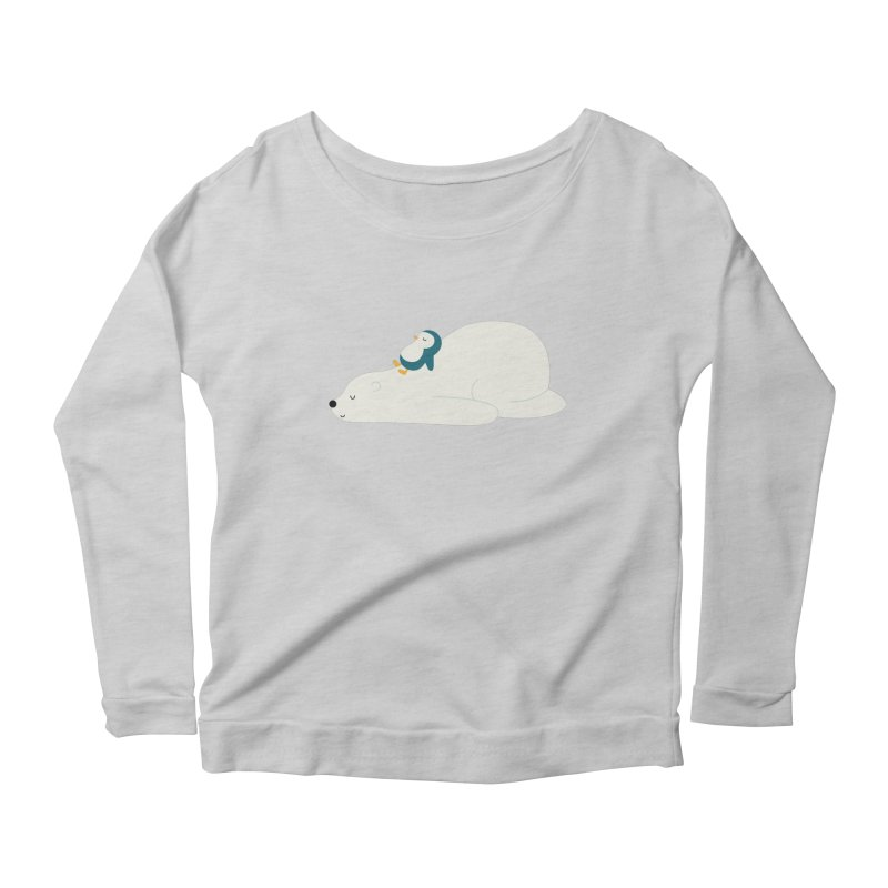 Time To Chill Women's Scoop Neck Longsleeve T-Shirt by andywestface's Artist Shop