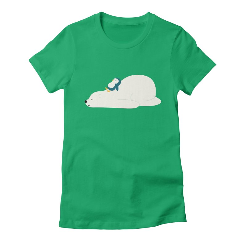 Time To Chill Women's Fitted T-Shirt by andywestface's Artist Shop