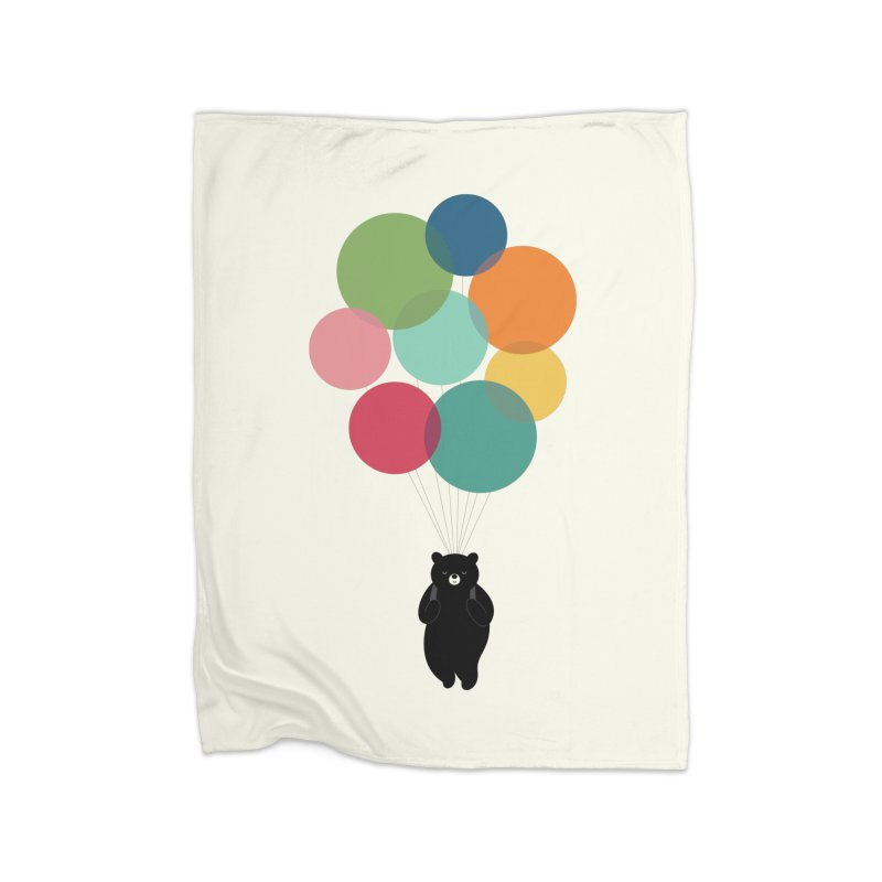 Happy Landing Home Blanket by andywestface's Artist Shop