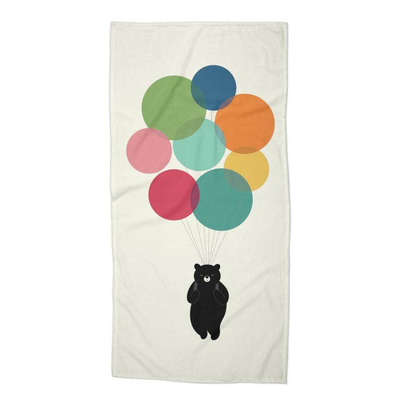 Happy Landing Accessories Beach Towel by andywestface's Artist Shop