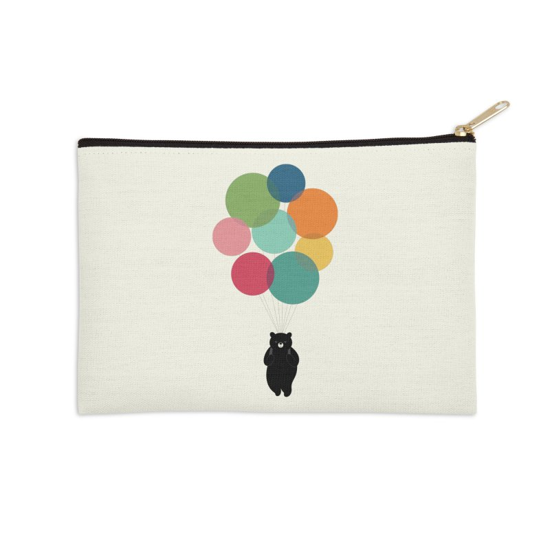 Happy Landing Accessories Zip Pouch by andywestface's Artist Shop