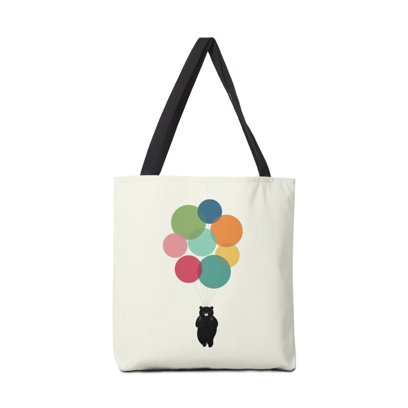 Happy Landing Accessories Tote Bag Bag by andywestface's Artist Shop