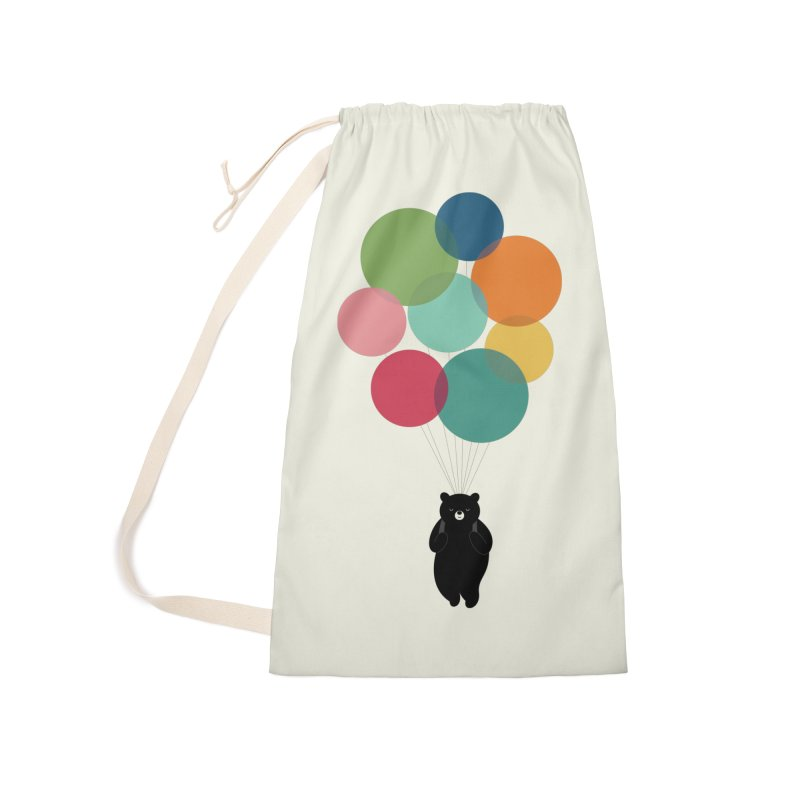 Happy Landing Accessories Laundry Bag Bag by andywestface's Artist Shop