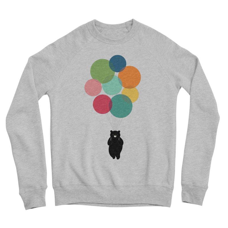 Happy Landing Women's Sponge Fleece Sweatshirt by andywestface's Artist Shop