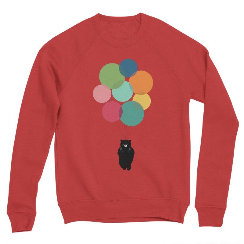 Happy Landing Men's Sponge Fleece Sweatshirt by andywestface's Artist Shop