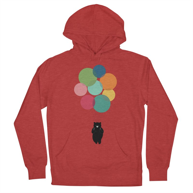 Happy Landing Women's French Terry Pullover Hoody by andywestface's Artist Shop