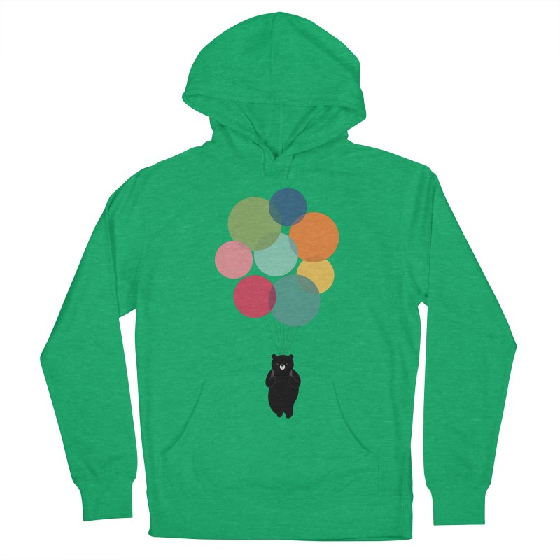 Happy Landing Men's French Terry Pullover Hoody by andywestface's Artist Shop
