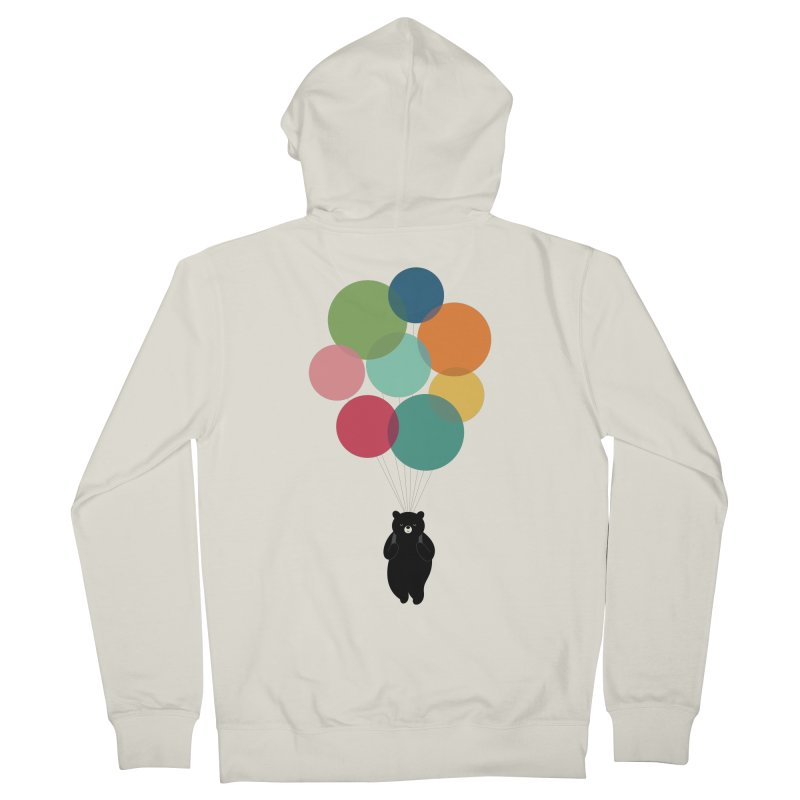 Happy Landing Men's French Terry Zip-Up Hoody by andywestface's Artist Shop