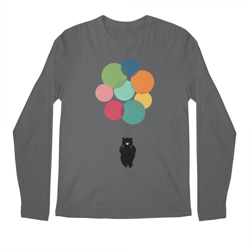 Happy Landing Men's Longsleeve T-Shirt by andywestface's Artist Shop