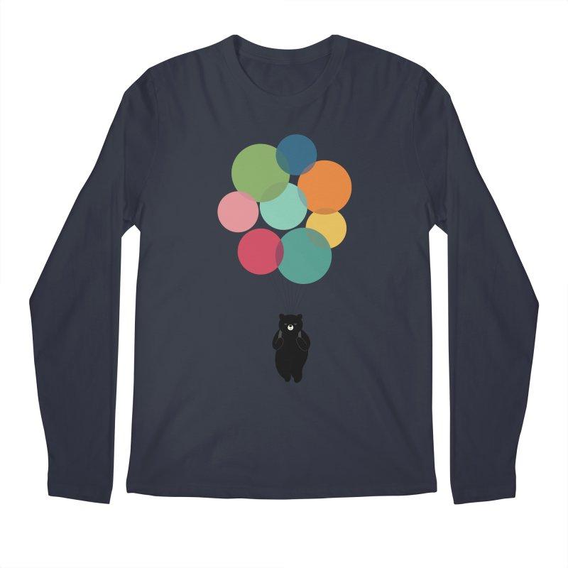 Happy Landing Men's Regular Longsleeve T-Shirt by andywestface's Artist Shop