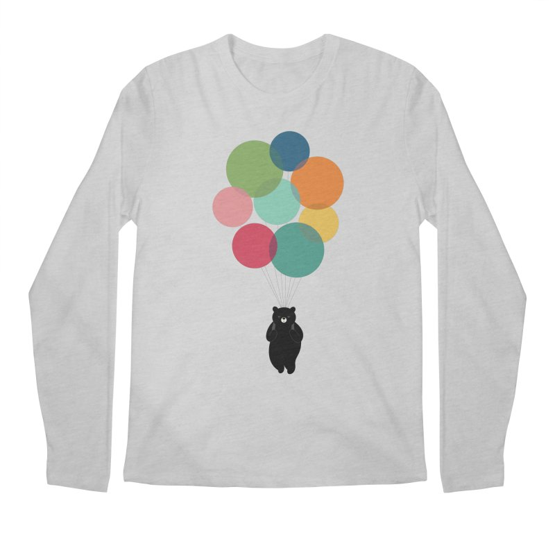 Happy Landing Men's Regular Longsleeve T-Shirt by andywestface's Artist Shop