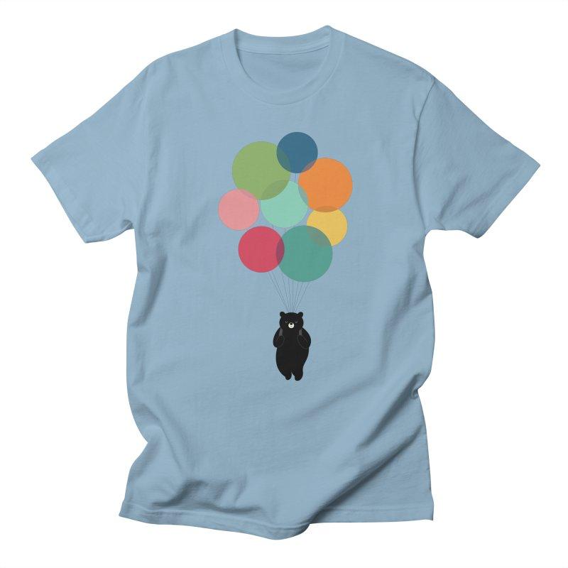 Happy Landing Men's Regular T-Shirt by andywestface's Artist Shop