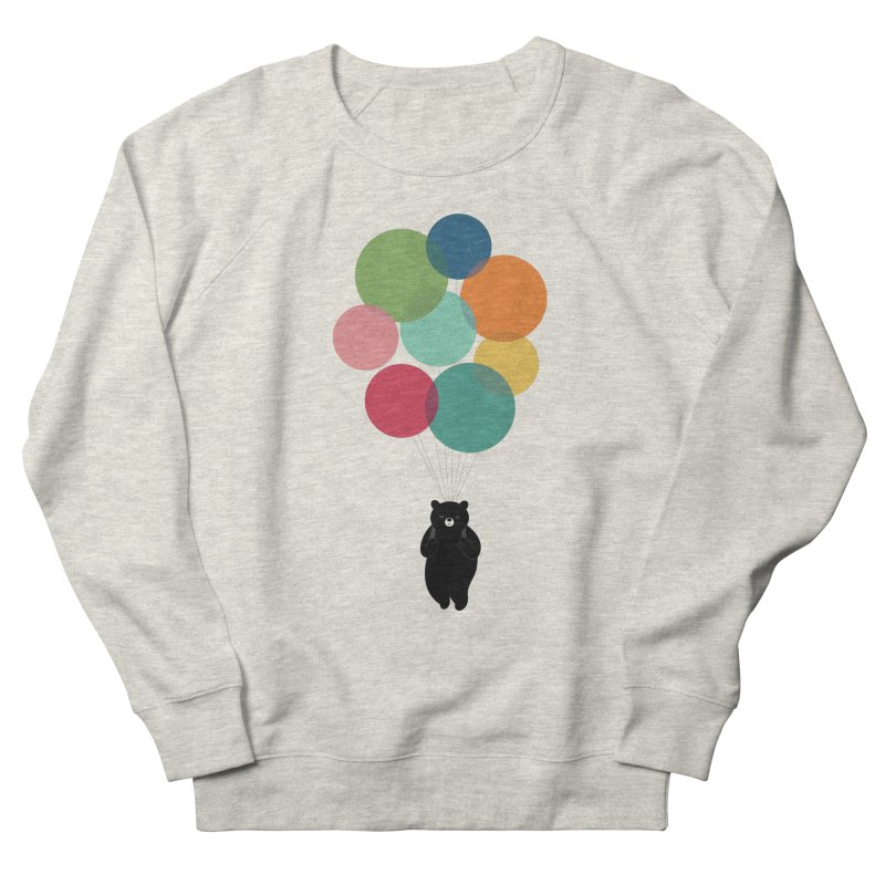 Happy Landing Women's French Terry Sweatshirt by andywestface's Artist Shop