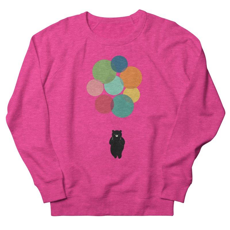 Happy Landing Men's French Terry Sweatshirt by andywestface's Artist Shop