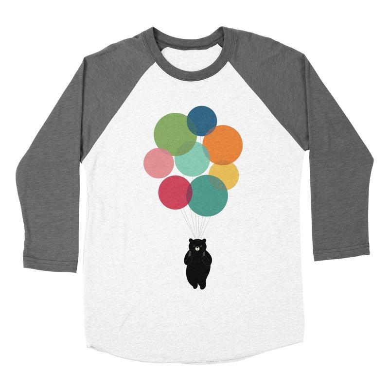 Happy Landing Men's Baseball Triblend Longsleeve T-Shirt by andywestface's Artist Shop