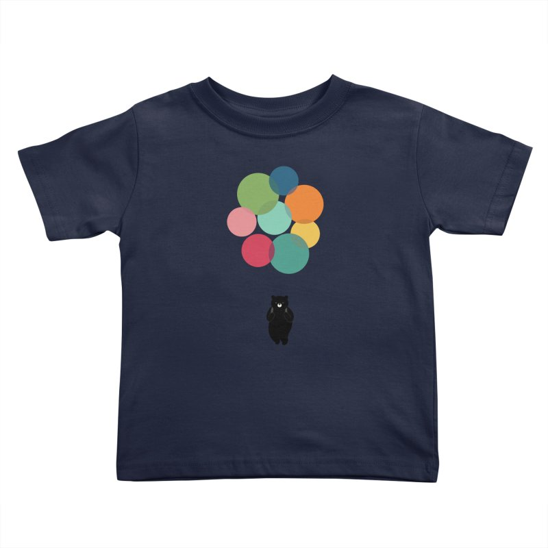 Happy Landing Kids Toddler T-Shirt by andywestface's Artist Shop