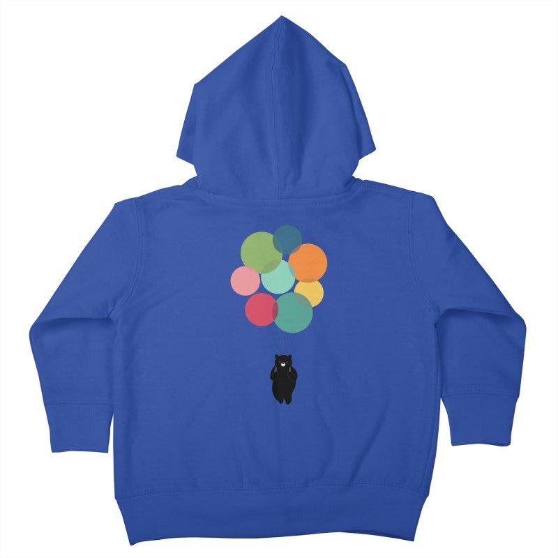 Happy Landing Kids Toddler Zip-Up Hoody by andywestface's Artist Shop
