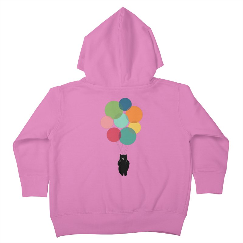 Happy Landing Kids Toddler Zip-Up Hoody by andywestface's Artist Shop