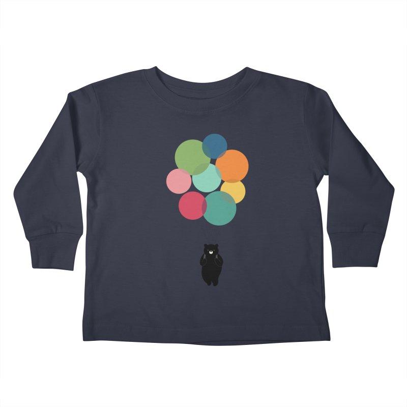 Happy Landing Kids Toddler Longsleeve T-Shirt by andywestface's Artist Shop