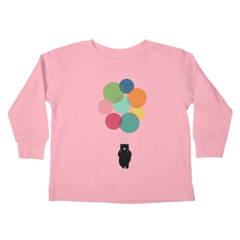 Happy Landing Kids Toddler Longsleeve T-Shirt by andywestface's Artist Shop