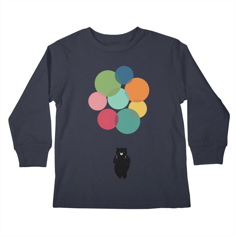 Happy Landing Kids Longsleeve T-Shirt by andywestface's Artist Shop