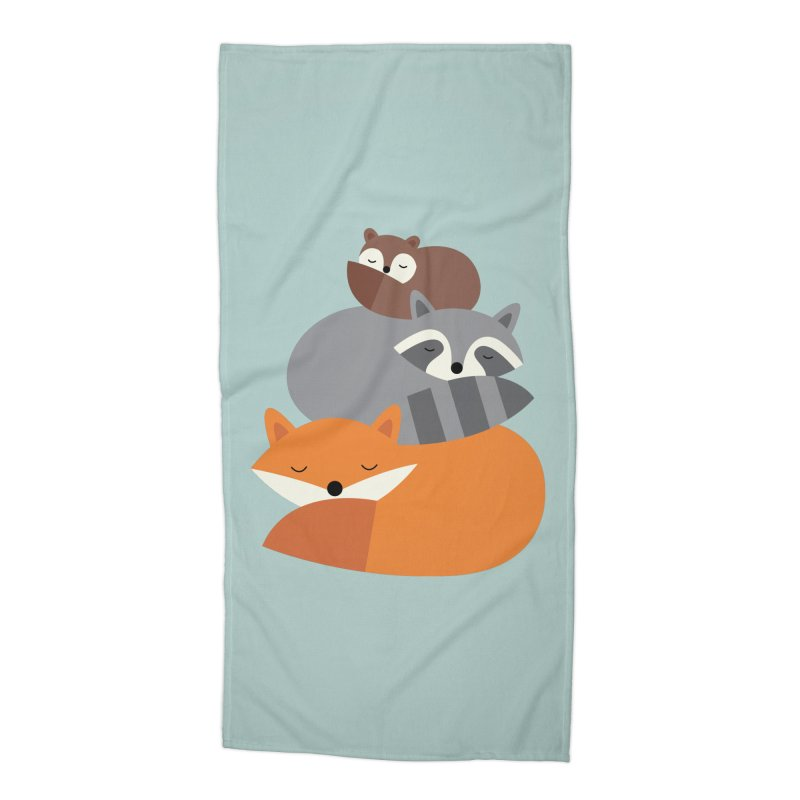 Dream Together Accessories Beach Towel by andywestface's Artist Shop