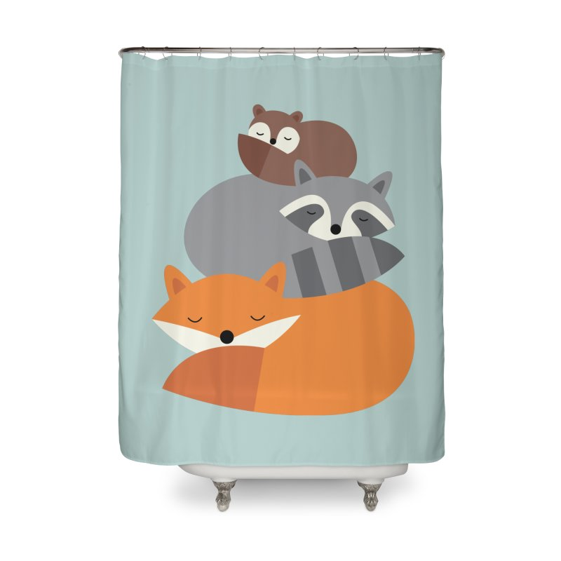 Dream Together Home Shower Curtain by andywestface's Artist Shop