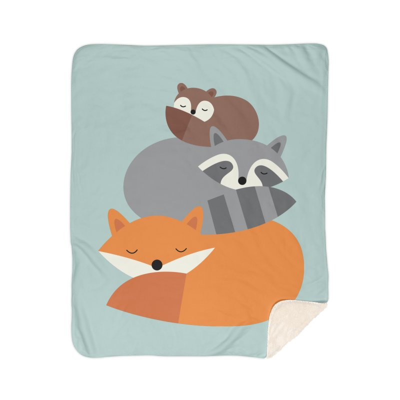 Dream Together Home Sherpa Blanket Blanket by andywestface's Artist Shop