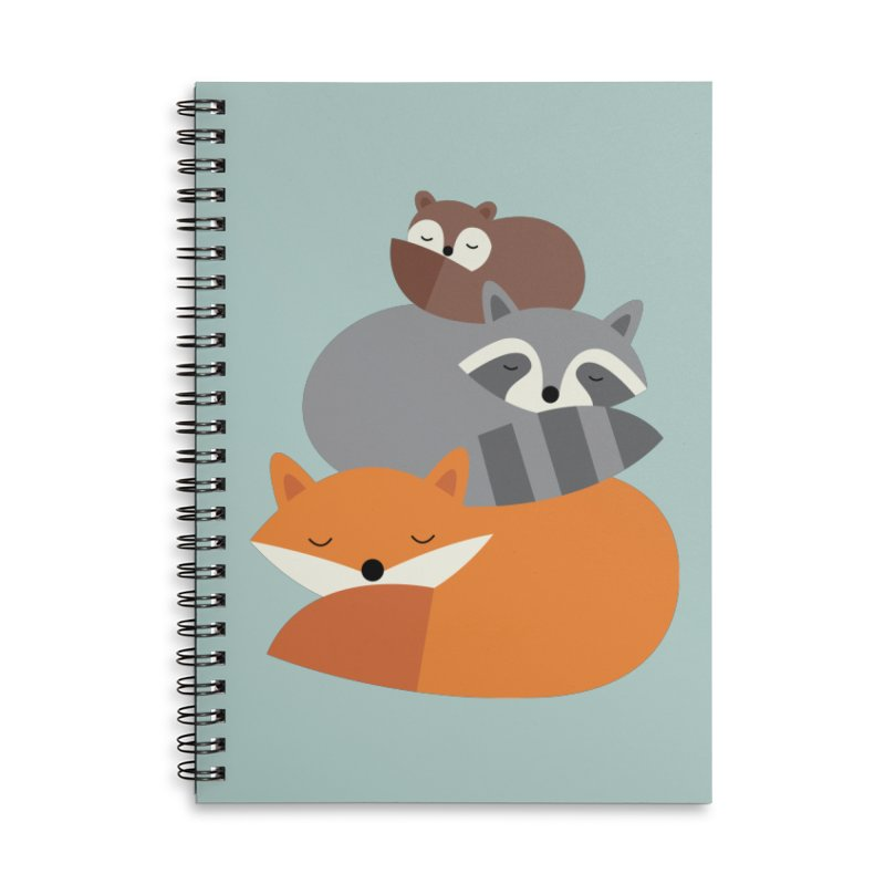Dream Together Accessories Lined Spiral Notebook by andywestface's Artist Shop