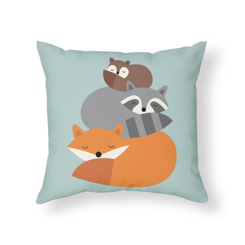 Dream Together Home Throw Pillow by andywestface's Artist Shop