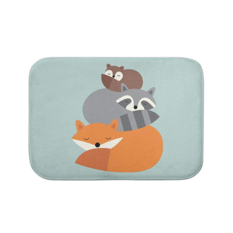 Dream Together Home Bath Mat by andywestface's Artist Shop