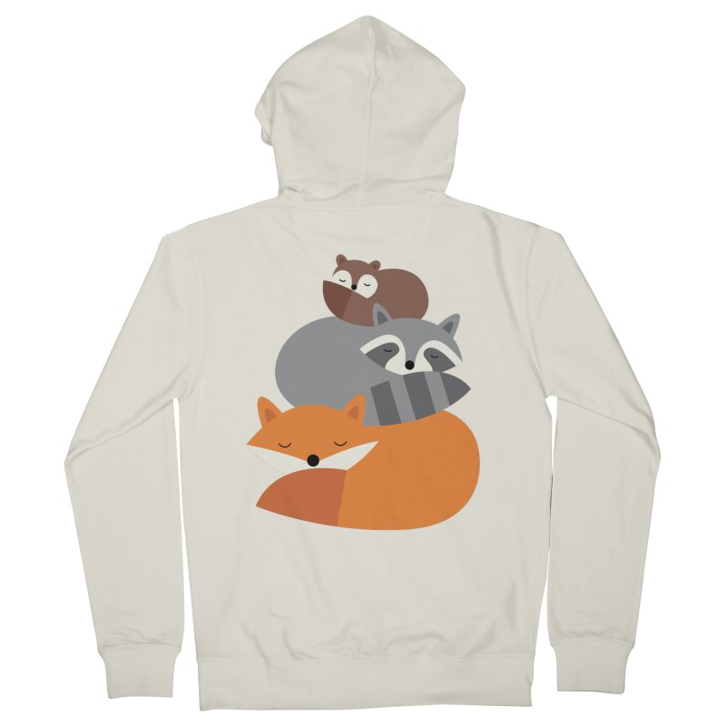 Dream Together Women's French Terry Zip-Up Hoody by andywestface's Artist Shop