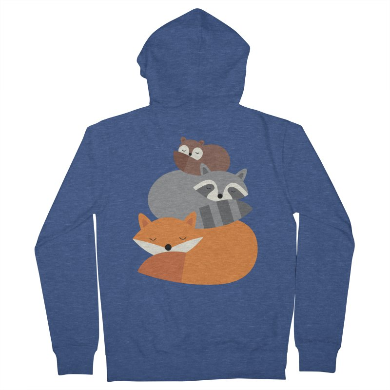 Dream Together Men's French Terry Zip-Up Hoody by andywestface's Artist Shop