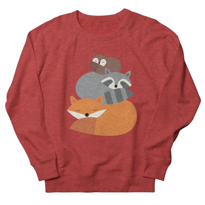 Dream Together Women's French Terry Sweatshirt by andywestface's Artist Shop